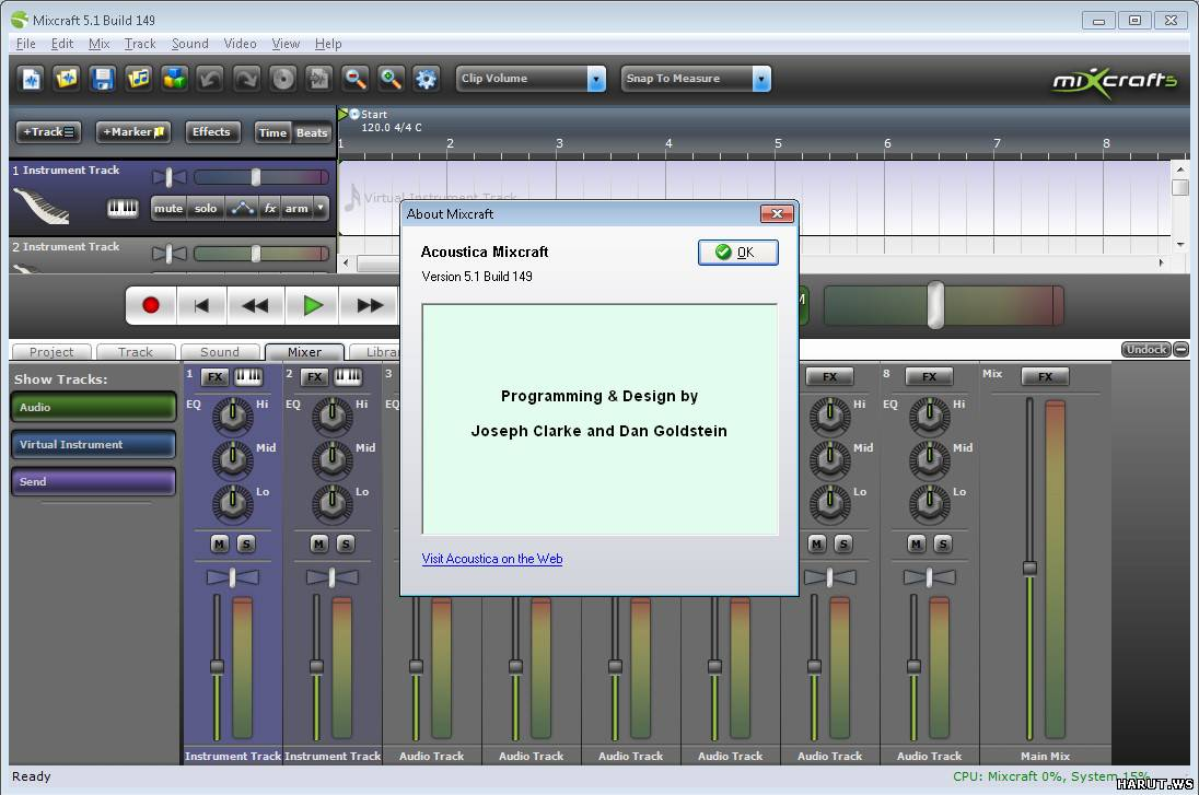 acoustica mixcraft 5.1 build 149